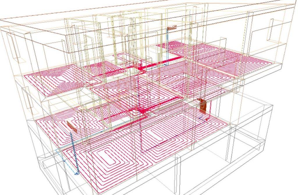 Suelo radiante eficiencia invisible sj12 enginyers - Instalacion suelo radiante ...